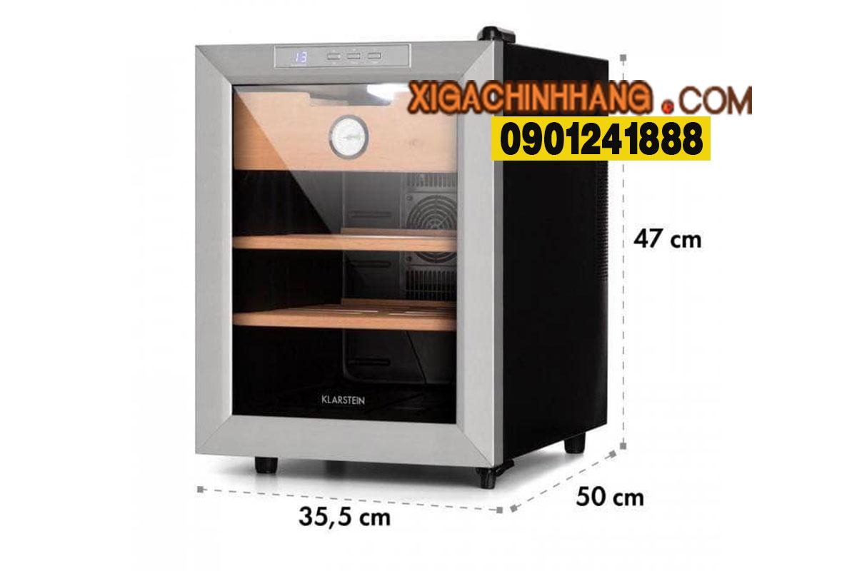 Tủ xì gà Klarstein 33 lít TPHCM 0901241888 - 256/3 PASTEUR Q3