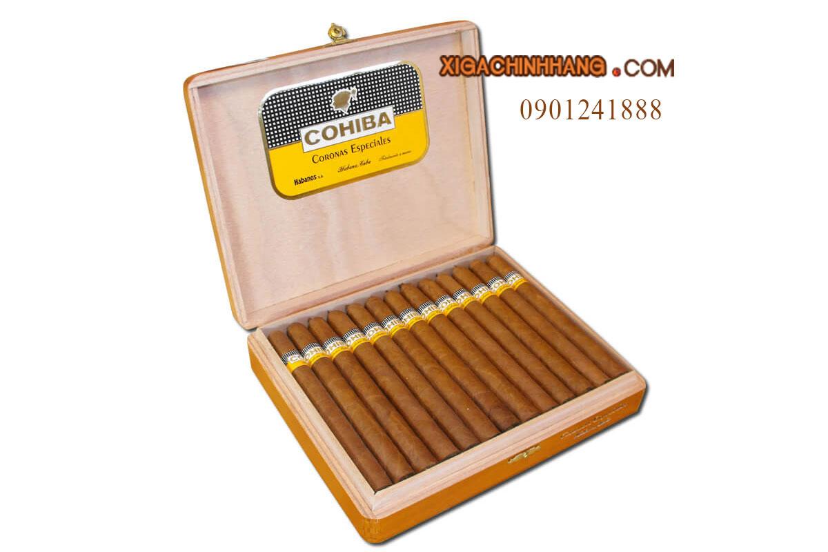 Xì gà Cohiba Coronas Especiales TPHCM 0901241888 - 256 Pasteur Q3