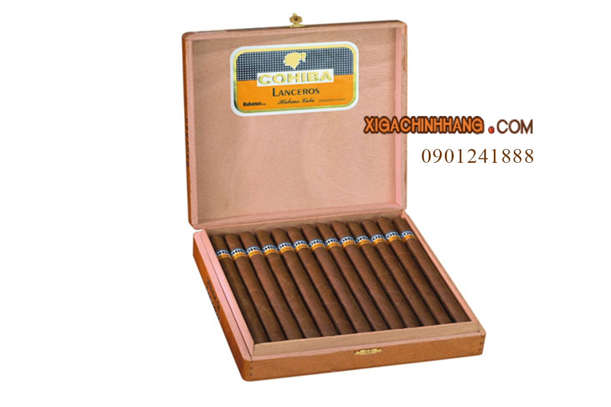 Xì gà Cohiba Lanceros hộp 25 điếu TPHCM 0901241888 - 256 Pasteur Q3
