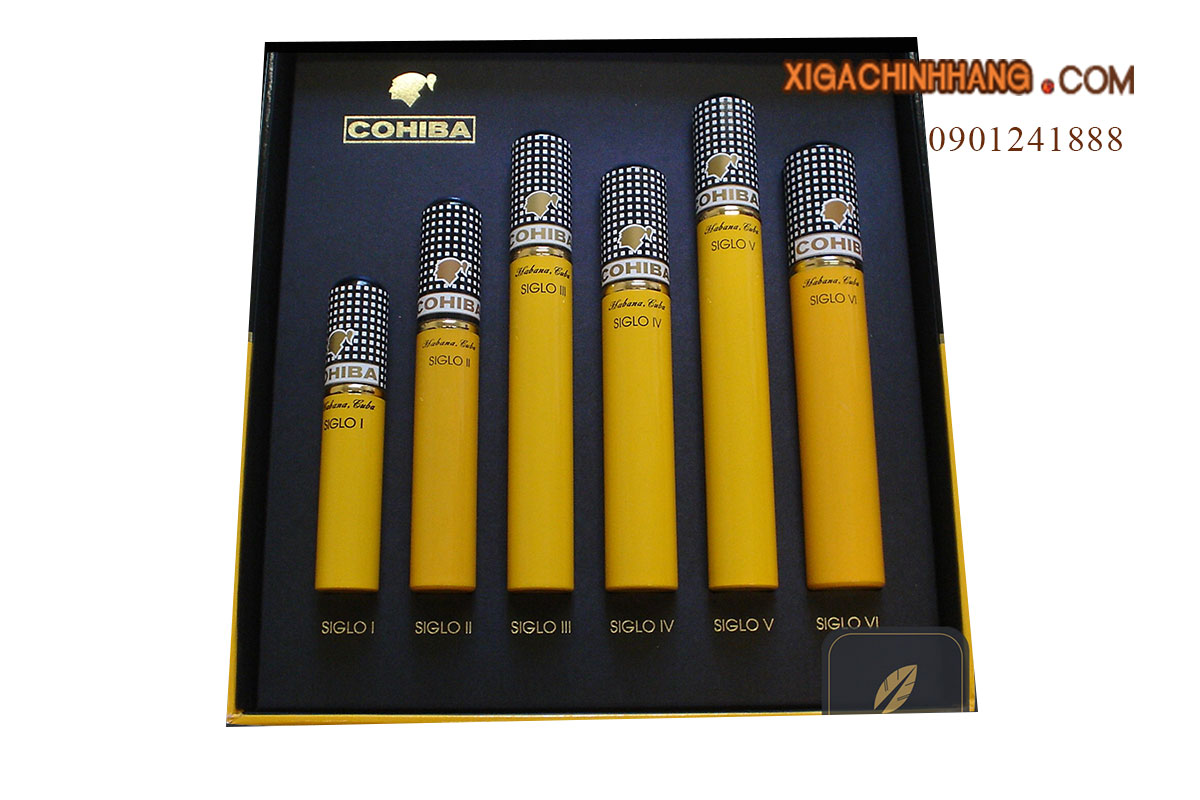 Xì gà Cohiba Seleccion Siglo I-VI Tubos TPHCM 0901241888 - 256 Pasteur Q3