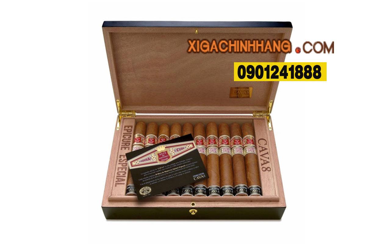 Xì gà Hoyo de Monterrey Cava 8 Epicure Especial  TPHCM 0901241888 - 256 Pasteur Q3