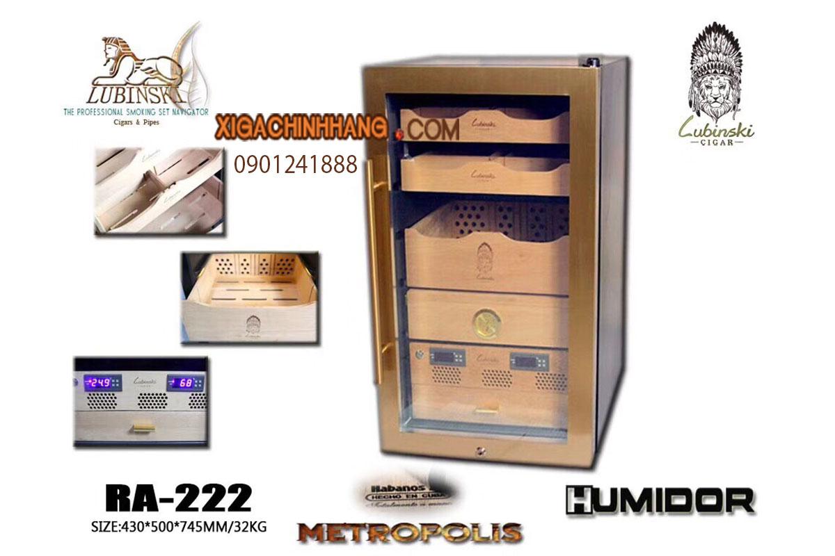 TỦ ĐỰNG XÌ GÀ LUBINSKI RA-222 HCM 0901241888 - 256 PASTEUR Q3