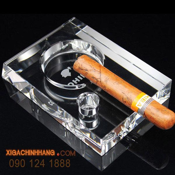 Gạt tàn xì gà Cohiba 1 điếu TPHCM 0901241888