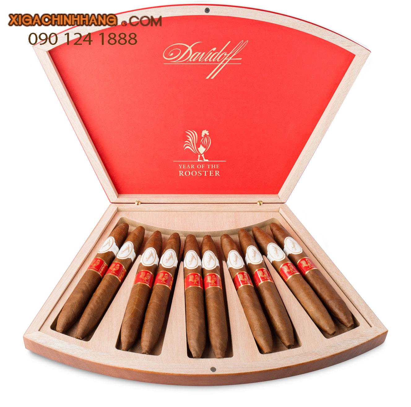 Xì gà Davidoff Limited Edition 2017 hộp 10 điếu  TPHCM 0901241888 - 256 Pasteur Q3