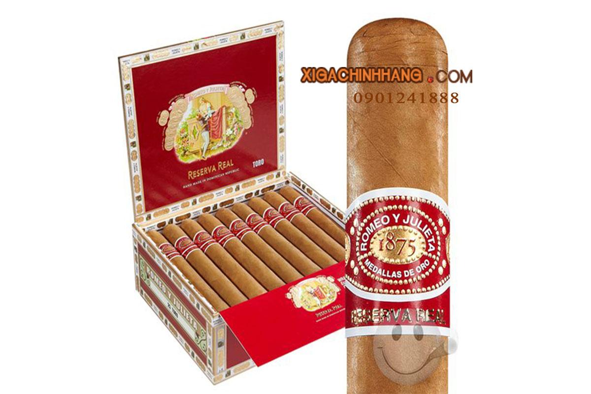 Xì gà Romeo y Julieta Reserva Real TPHCM 0901241888 - 256 Pasteur Q3