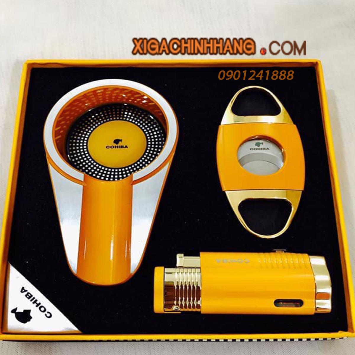 Set phụ kiện Cigar Cohiba TPHCM 0901241888 - 256 Pasteur Q3