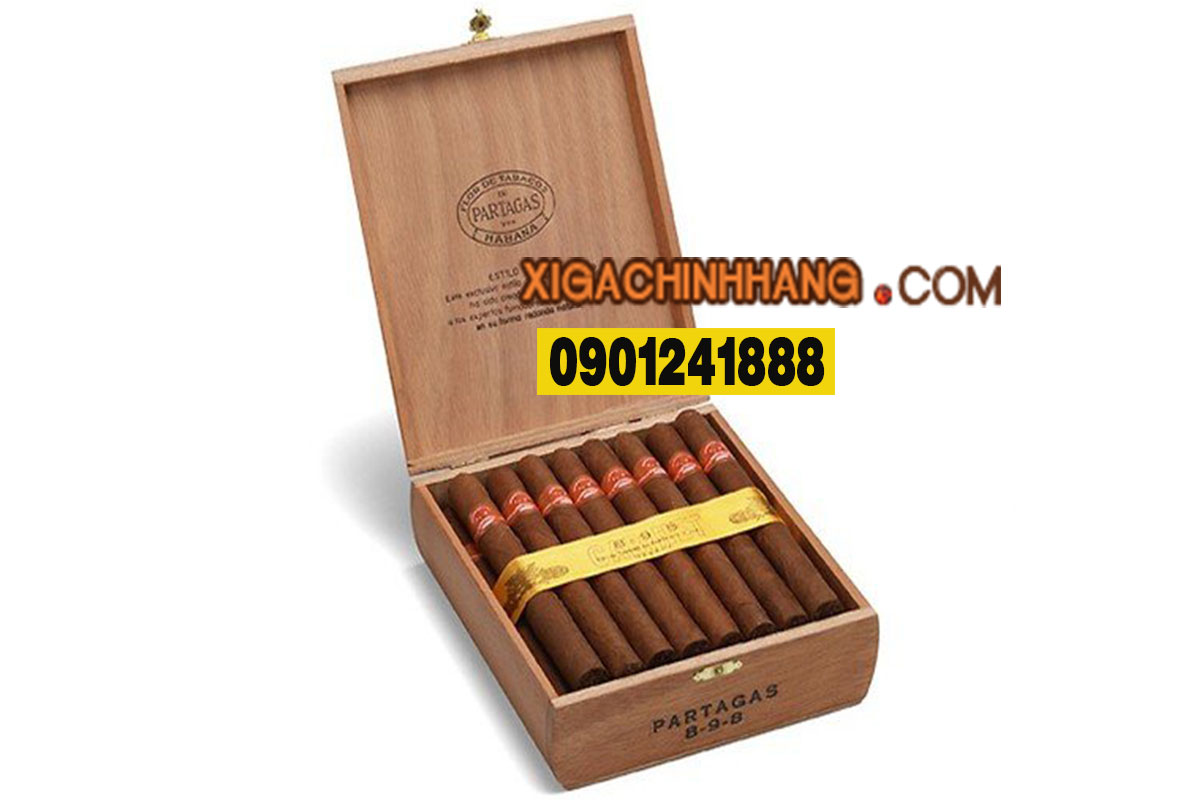 Xì gà Partagas 898 Varnished TPHCM 0901241888 - 256 Pasteur Q3