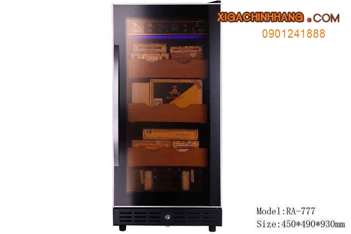 Tủ giữ ẩm bảo quản xì gà Lubinski 777 HCM 0901241888 - 256 Pasteur Q3