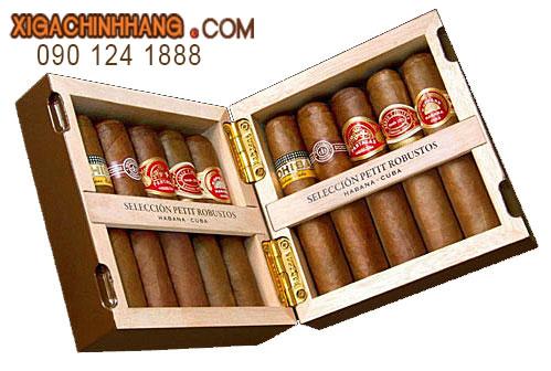 Xì gà Cohiba Seleccion Petit Robustos hộp 10 điếu TPHCM 0901241888 - 256 Pasteur Q3