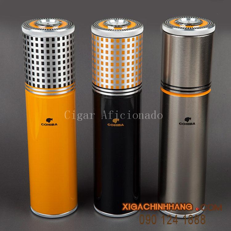 Ống giữ ẩm xì gà cohiba 3 điếu TPHCM 0901241888