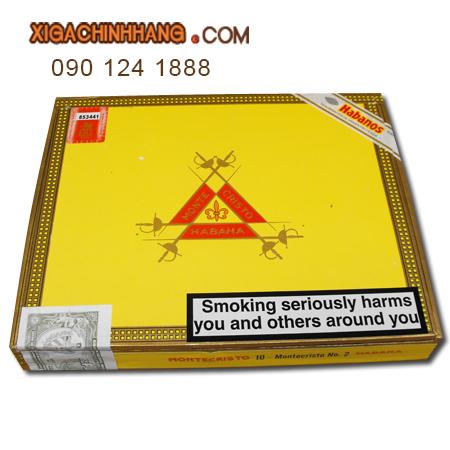 Xì gà Montecristo No 2 hộp 10 điếu TPHCM 0901241888 - 256 Pasteur Q3