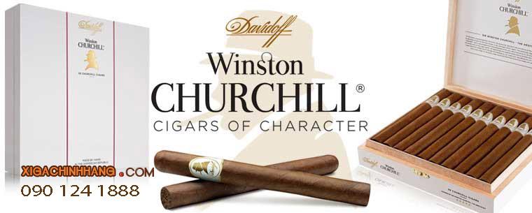 Xì gà Davidoff Winston Churchill hộp 10 điếu TPHCM 0901241888 - 256 Pasteur Q3