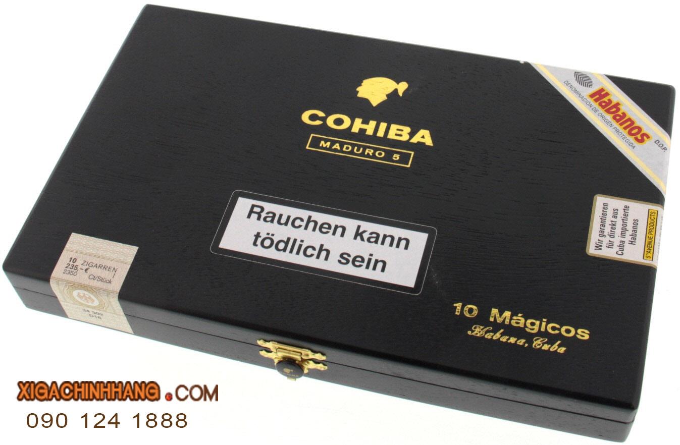Xì gà Cohiba Maduro 5 Magicos hộp 10 điếu TPHCM 0901241888 - 256 Pasteur Q3