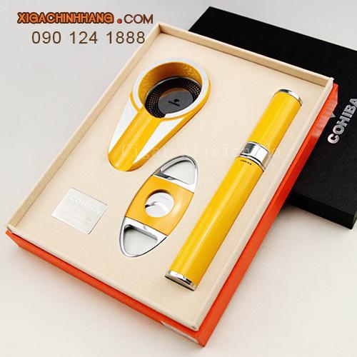 Set phụ kiện xì gà hiệu Cohiba HCM 0901241888- 256 Pasteur Q3