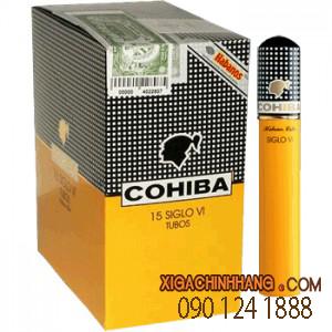 Cohiba Siglo 6 Tubos hộp 15 điếu TPHCM 0901241888 - 256 Pasteur Q3