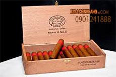 Xì gà Partagas D No 4 hộp 25 điếu HCM 0901241888 - 256 Pasteur Q3