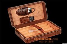 Set hộp đựng xì gà, bật lửa xì gà, dao cắt xì gà Cohiba TPHCM 0901241888- 256 Pasteur