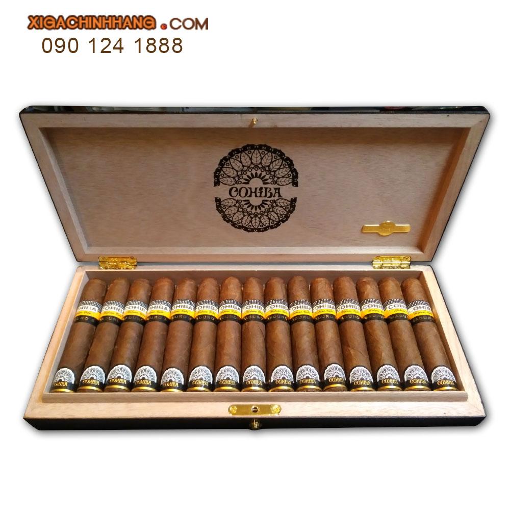 Xì gà Cohiba maduro 5 Magicos 50th Anniversary hộp 15 điếu TPHCM 0901241888 - 256 Pasteur Q3